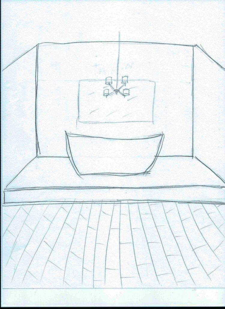 platform for tub