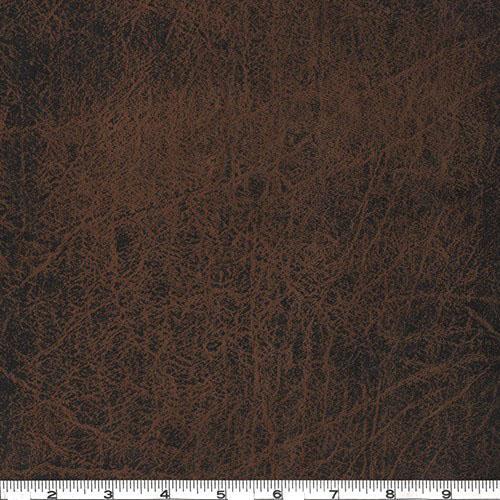Faux Leather Fabric Grange Copper
