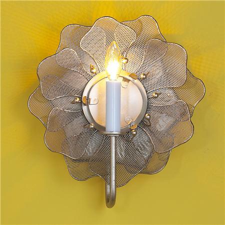 metal mesh flower SOL