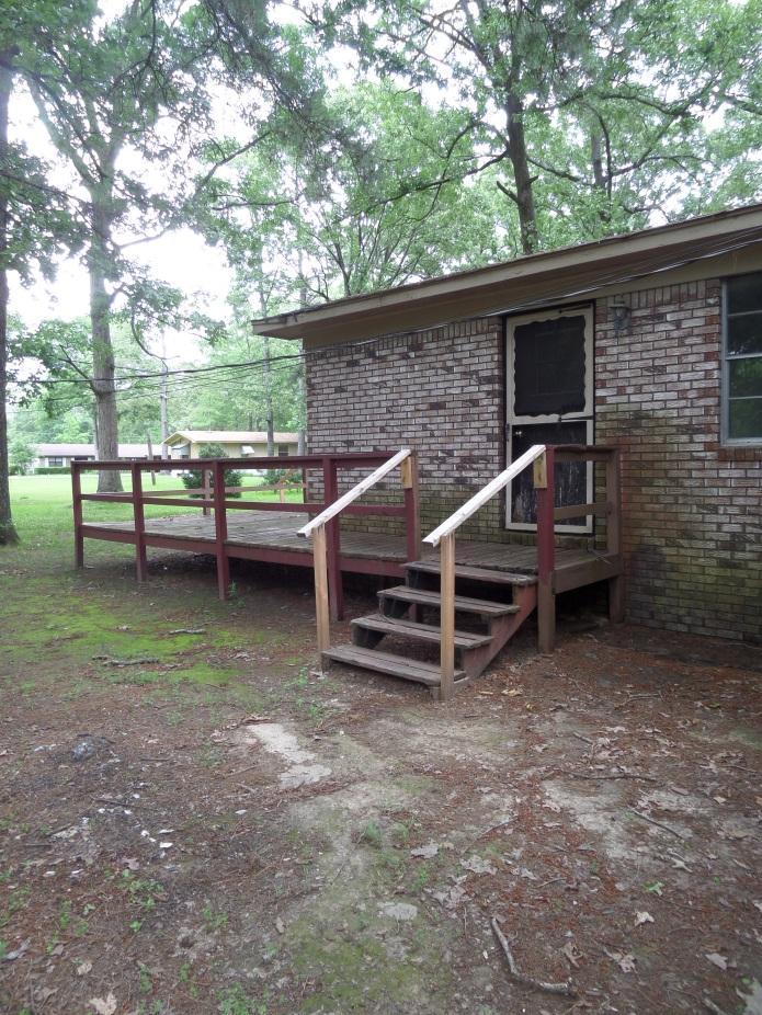 Stairs and side door etheridge