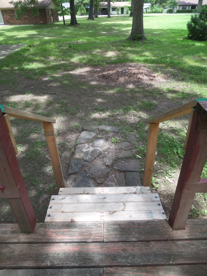 Deck Stairs Etheridge