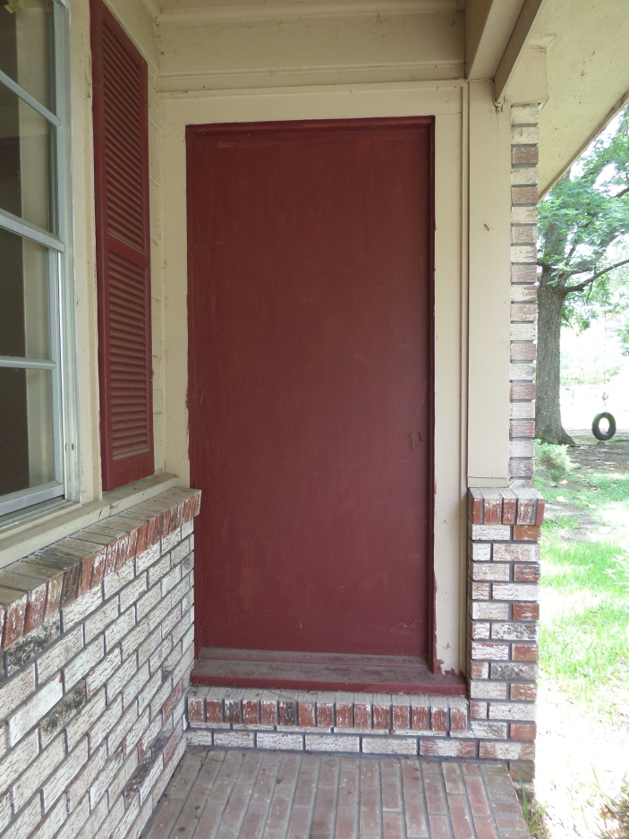 Old front door etheridge