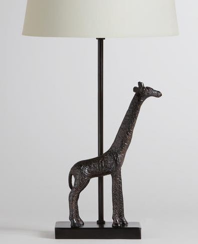 giraffe lamp world market