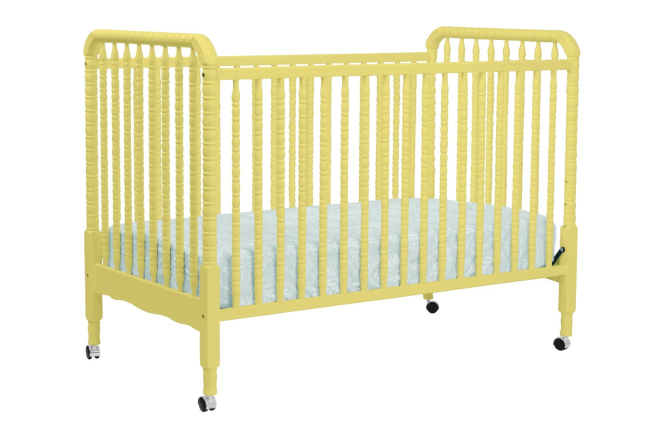 yellow crib JL amazon