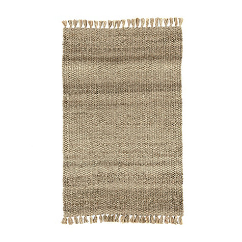 driftwood jute rug